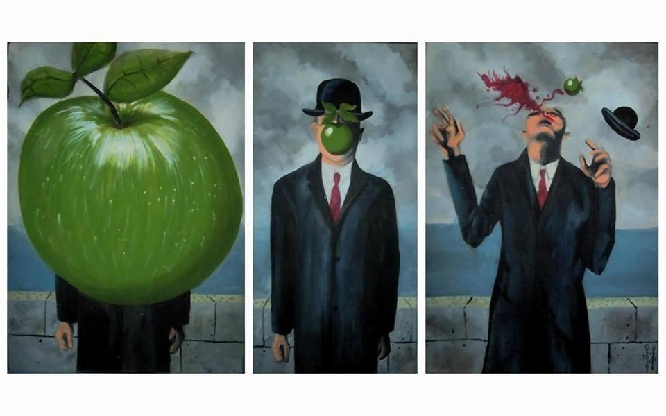 Rene Magritte Syn Człowieczy