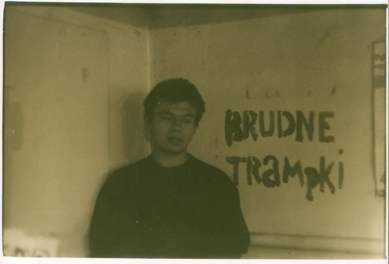To ja, czasy liceum i prób kapeli Brudne Trampki, 2003 r.